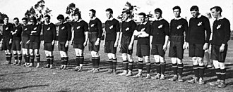 1921 South Africa rugby union tour of Australia and New Zealand - The New Zealand team that played the first test v the Springboks on 13 August