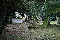 All Saints Church, Berners Roding, Essex churchyard from the north.jpg