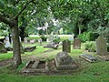 All Saints Church - churchyard - geograph.org.uk - 1349954.jpg