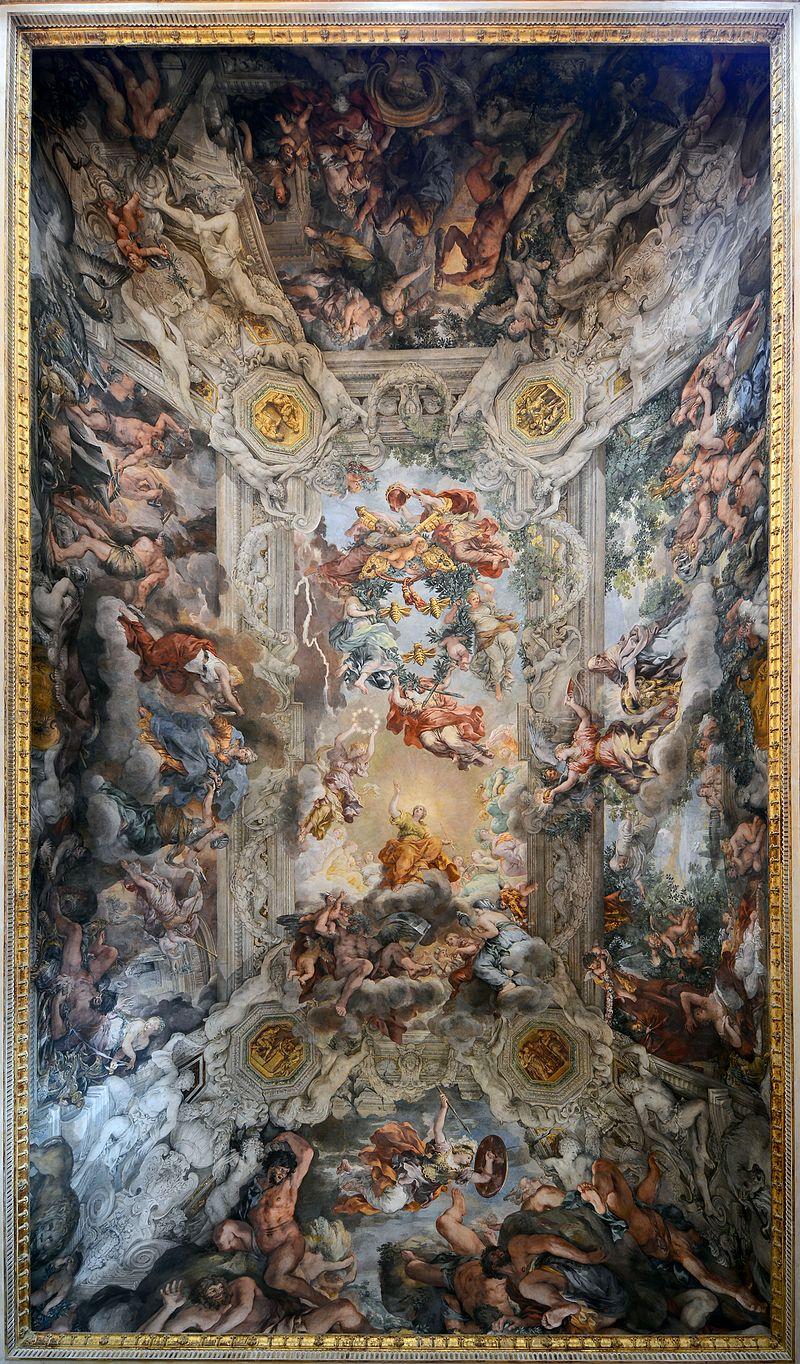 Baroque Fresco Church Dome