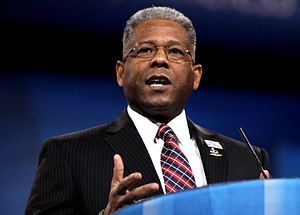 Allen West (politician) - West speaking at the 2013 Conservative Political Action Conference (CPAC) in Washington, D.C.