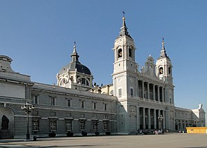 Almudena Cathedral, Madrid, Spain Français : C...