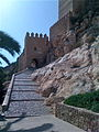 Along the walls of the Alcazaba of Almeria.jpg