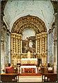 Altar-mor da Igreja Matriz e retábulo de José Malhoa, representando o baptismo de Cristo, 197-? (Figueiró dos Vinhos, Portugal) (3362048819).jpg