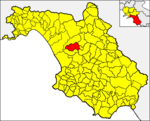 Locatio Altae Villae in provincia Salernitana