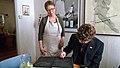 Ambassador signs the Tree Hotel guest book (5609686346).jpg