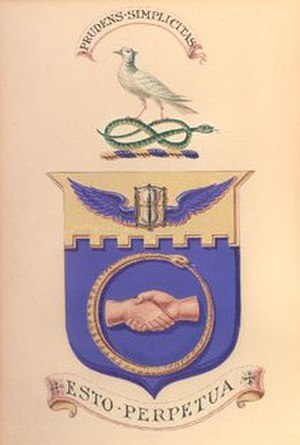 Amicable Society for a Perpetual Assurance Office - Amicable Society coat of arms