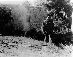 Amos Horev - Amos Horev in Katamon during Operation Yevusi