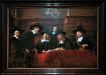 Amsterdam - Rijksmuseum - Late Rembrandt Exposition 2015 - De Staalmeesters - The Syndics of the Amsterdam Drapers' Guild 1662.jpg