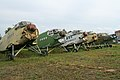An-2 fuselages at Chernoye, Russia (9129932512).jpg