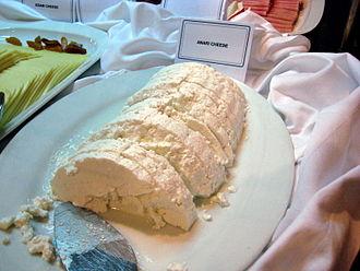 Anari cheese - Image: Anari Limassol