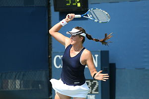 Anastasia Pavlyuchenkova at the 2010 US Open 01.jpg