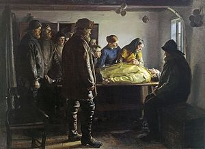 Will He Round the Point? - Image: Ancher 02 den druknede