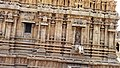 Ancient Thanjavur Brihadeeswarar Temple wall photo.jpg