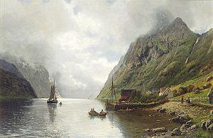 Anders Askevold - Image: Anders Askvold Norsk fjordlandskap