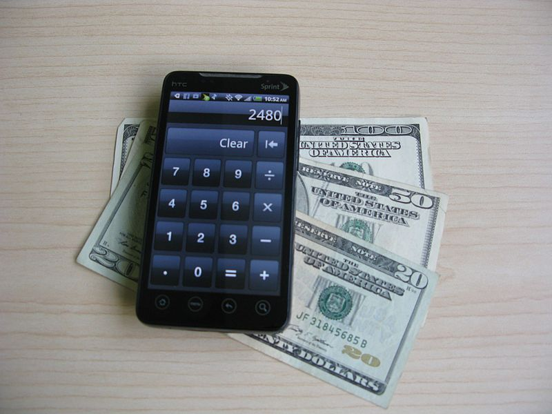 File:Android Smartphone with Money.jpg