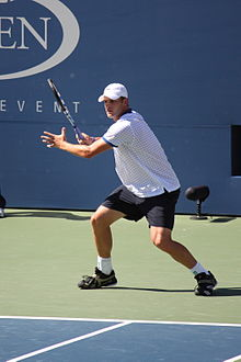 3865c5af80a1 Andy Roddick playing at US Open 2010