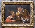 Annibale carracci, dua ragazzi con un gatto, 1618 ca..JPG