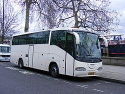 Anonymous Scania - Irizar Century coach from Hungary, HOS133. - Flickr - sludgegulper.jpg