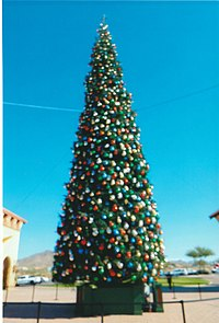 Anthem's Christmas Tree is the tallest in Arizona.[1]