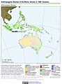 Anthropogenic Biomes of the World, Version 2, 1900 Oceania (13603713635).jpg