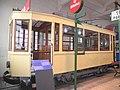 Antiguo tranvía de Bilbao preservado en el Museo del Ferrocarril de Azpeitia.jpg