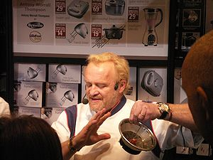 Antony Worrall Thompson Demonstrates a New Gadget