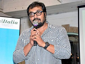 Anurag Kashyap - Kashyap at a press meet for Udaan, 2010.