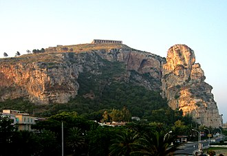 Via Severiana - Temple of Jupiter in Terracina