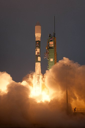 SAC-D is an Argentine earth science satellite built by INVAP and launched in 2011. Aquarius SAC-D Launch (201106100022HQ) DVIDS722852.jpg