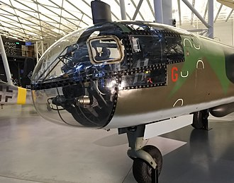 Arado Ar 234 - Arado Ar 234 B-2 nose at the Steven F. Udvar-Hazy Center.