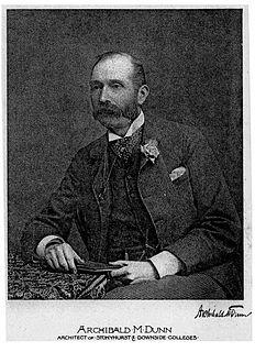 Archibald Matthias Dunn British architect