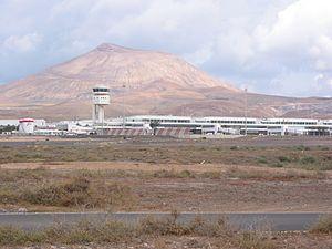 Lanzarote Airport - Image: Arrecife Airport