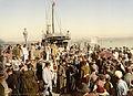 Arrival of a steamer, Algiers, Algeria, ca. 1899.jpg