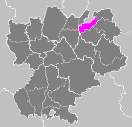 Lag vum Arrondissement Saint-Julien-en-Genevois