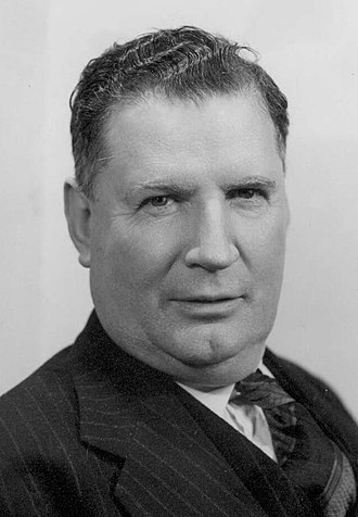 National Party of Australia - Sir Arthur Fadden, Prime Minister of Australia 1941.