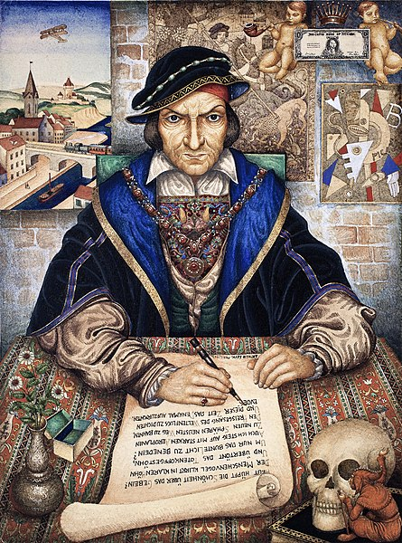 File:Arthur Szyk (1894-1951). The Scribe (1927), Paris.jpg