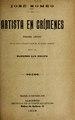 Artista en crímenes - drama lírico en un acto y cuatro cuadros, en prosa (IA artistaencrimene495sanf).pdf