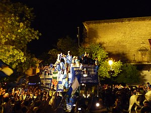 Xerez CD - Image: Ascenso 1 Bus 2