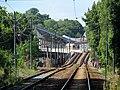Ashmont loop from Cedar Grove station, August 2016.JPG