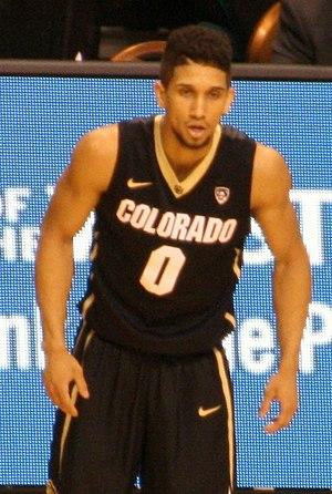 Askia Booker - Booker with the Colorado Buffaloes in 2014