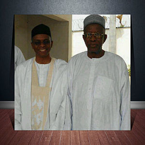 Abubakar Saleh Michika - During a visit by Governor Nasir Ahmad el-Rufai of Kaduna State