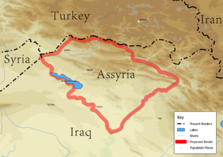 Assyrian homeland geographic and cultural region in Northern Mesopotamia, traditionally inhabited by the Assyrian people