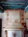 Aubenas-les-Alpes, cheminée de gypserie de la mairie.JPG