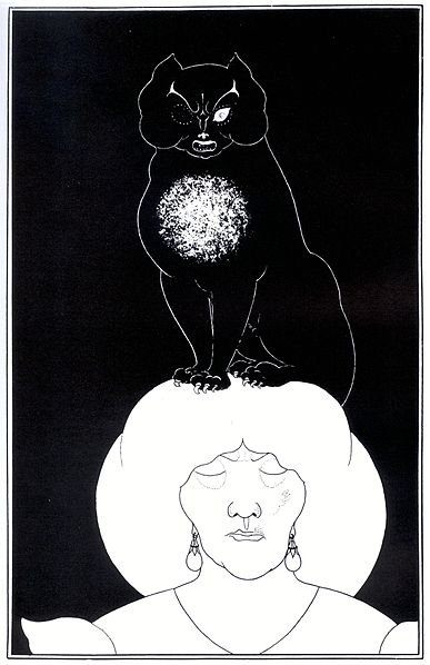 Aubrey Beardsley - Illustrateur dans Illustrateurs 387px-Aubrey_Beardsley_-_Edgar_Poe_2