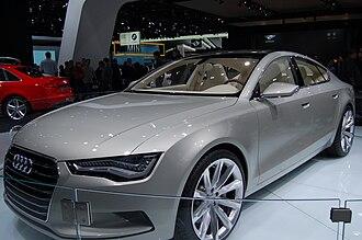 Audi A7 - Audi Sportback concept (2009)
