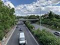 Autoroute A6a vue depuis Pont Avenue Jean Jaurès Arcueil 1.jpg