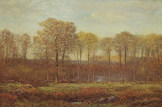 Dwight William Tryon - Image: Autumn new england dwight william tryon