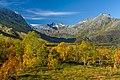 Autumn view towards Vesterdalen from Sørdalen in Kvæfjord, Troms, Norway, 2015 September.jpg