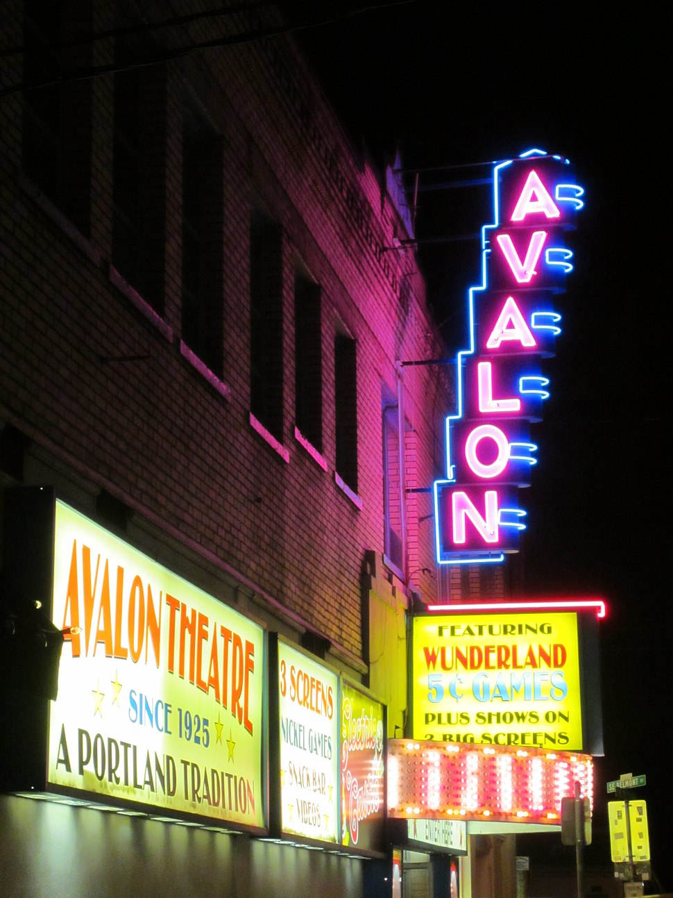 Avalon Theatre, Belmont, Portland, OR 2012